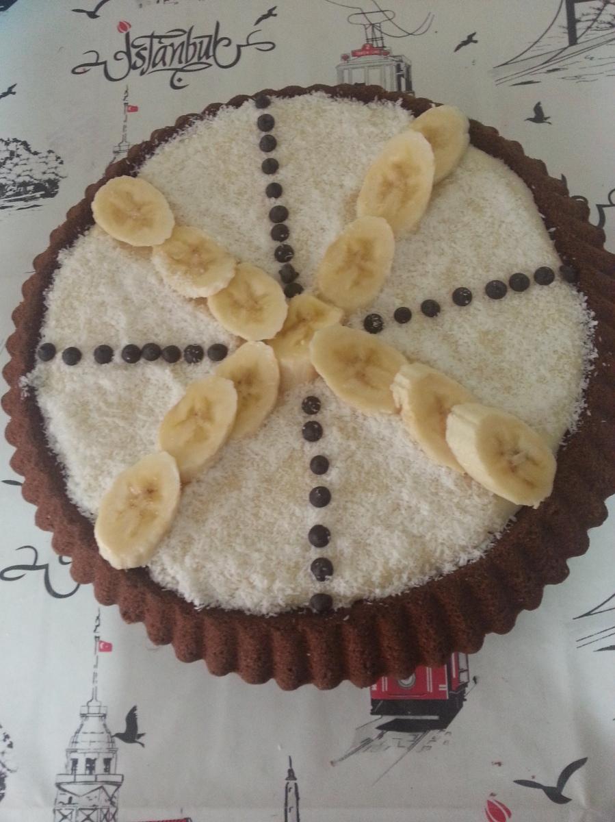 Muzlu Damat Pastası (Tart Kalıbında)